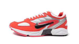NIKE AIR GHOST RACER HABANERO RED/BLACK/WHITE/METALIC SILVER/HABANERO RED  3