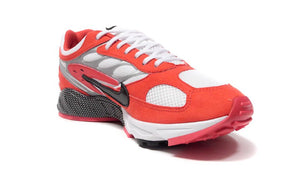 NIKE AIR GHOST RACER HABANERO RED/BLACK/WHITE/METALIC SILVER/HABANERO RED  5