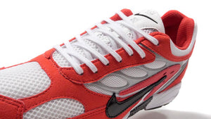 NIKE AIR GHOST RACER HABANERO RED/BLACK/WHITE/METALIC SILVER/HABANERO RED  6