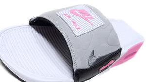 NIKE AIR MAX 90 SLIDE WHITE/COOL GREY/ROSE/BLACK  6