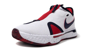 "NIKE PG 4 EP ""USA"" ""PAUL GEORGE"" WHITE/OBSIDIAN/UNIVERCITY RED 1"
