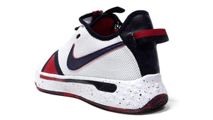 "NIKE PG 4 EP ""USA"" ""PAUL GEORGE"" WHITE/OBSIDIAN/UNIVERCITY RED 2"