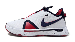 "NIKE PG 4 EP ""USA"" ""PAUL GEORGE"" WHITE/OBSIDIAN/UNIVERCITY RED 3"