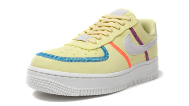 NIKE (WMNS) AIR FORCE 1 '07 LX LIME/SUMMIT WHITE/LASER BLUE/HYPER ORANGE/CACTUS FLOWER 1