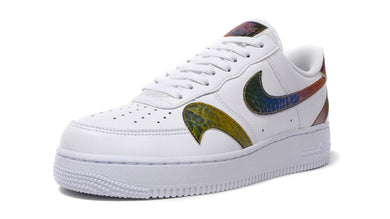 NIKE AIR FORCE 1 '07 LV8 2 WHITE/MULTI COLOR/WHITE 1