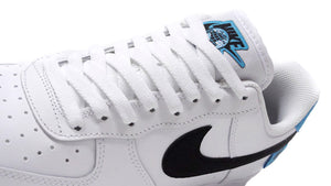 "NIKE AIR FORCE 1 '07 WW ""WORLD WIDE PACK"" WHITE/BLACK/BLUE FURY 6"
