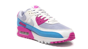 NIKE (WMNS) AIR MAX 90 GREY/SUMMIT WHITE/PINK/BLUE  5