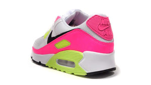 NIKE (WMNS) AIR MAX 90 WHITE/BLACK/PINK/GHOST GREEN  2