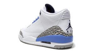NIKE AIR JORDAN 3 RETRO WHITE/VALOR BLUE-TECH GREY  2