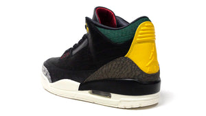 "JORDAN BRAND AIR JORDAN 3 RETRO SE ""ANIMAL INSTINCT 2.0"" ""MICHAEL JORDAN"" BLACK/BLACK/WHITE/GORGE GREEN/VARSITY RED 2"