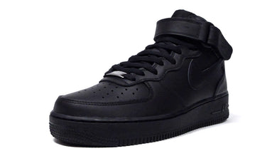 NIKE AIR FORCE 1 MID '07 BLACK/BLACK/NOIR/NOIR 1