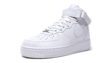 NIKE AIR FORCE 1 MID '07 WHITE/WHITE/BLANC/BLANC 1