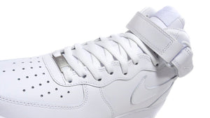 NIKE AIR FORCE 1 MID '07 WHITE/WHITE/BLANC/BLANC 6