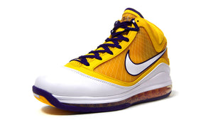 "NIKE LEBRON VII QS ""LOS ANGELES LAKERS"" ""LEBRON JAMES"" COURT PURPLE/WHITE/AMARILLO 1"