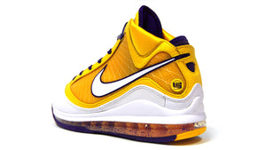 "NIKE LEBRON VII QS ""LOS ANGELES LAKERS"" ""LEBRON JAMES"" COURT PURPLE/WHITE/AMARILLO 2"