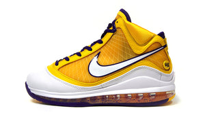 "NIKE LEBRON VII QS ""LOS ANGELES LAKERS"" ""LEBRON JAMES"" COURT PURPLE/WHITE/AMARILLO 3"