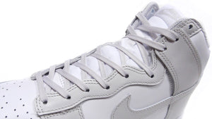 "NIKE DUNK HIGH RETRO ""VAST GREY"" WHITE/VAST GREY/WHITE/BLANC/BLANC/GRIS INFINI 6"