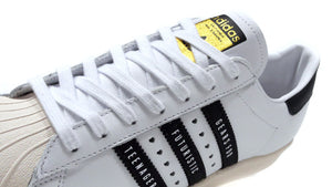 "adidas SUPERSTAR80S ""HUMAN MADE""  WHT/BLK/NAT/RED/GLD 6"