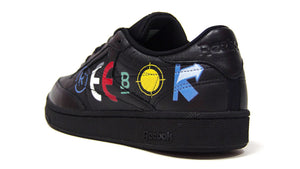 "Reebok CLUB C 85 BEP ""BLACK EYE PATCH"" BLACK/WHITE/COURT GREEN 2"