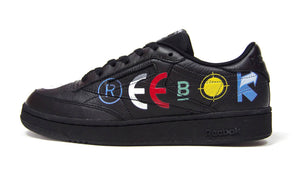 "Reebok CLUB C 85 BEP ""BLACK EYE PATCH"" BLACK/WHITE/COURT GREEN 3"