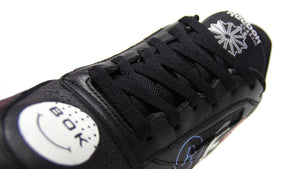 "Reebok CLUB C 85 BEP ""BLACK EYE PATCH"" BLACK/WHITE/COURT GREEN 6"