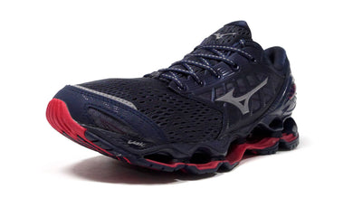 MIZUNO WAVE PROPHECY 9 NAVY/GREY/RED 1