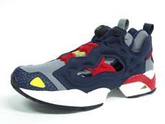 Reebok INSTA PUMP FURY 「WHIZ LIMITED x mita sneakers」 GRY/NVY/RED/YEL1