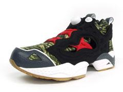 Reebok INSTA PUMP FURY 「EXPANSION x mita sneakers」 CAMO/BLK/GRY/RED1