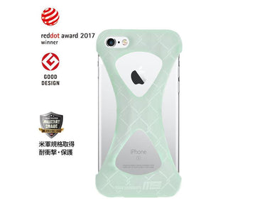 GLOW IN THE DARK GOODS Palmo x mita sneakers for iPhone 6s & iPhone 6 GID/WHT1