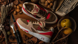 "le coq sportif LCS R 800 GIBIER ""GIBIER"" BGE/BRN/O.WHT/RED ""LIMITED EDITION for SELECT""7"