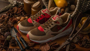 "le coq sportif LCS R 800 GIBIER ""GIBIER"" BGE/BRN/O.WHT/RED ""LIMITED EDITION for SELECT""8"