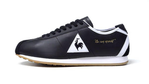 "le coq sportif MONTPELLIER LEATHER BLK/WHT/GLD/GUM ""LIMITED EDITION for LE CLUB""3"