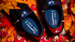 "le coq sportif MONTPELLIER.JP BLK/RED/WHT/BLU ""made in JAPAN"" ""鳶"" ""SOU・SOU"" ""LIMITED EDITION for SELECT""11"