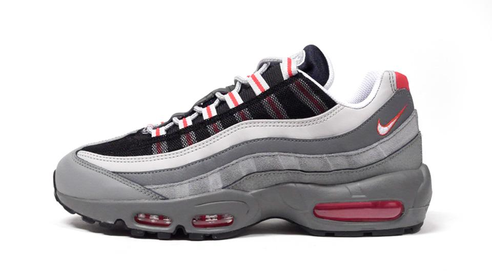 NIKE AIR MAX 95 ESSENTIAL TRACK RED