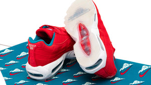 "NIKE AIR MAX 95 UTILITY NRG ""Mt.FUJI"" UNIVERSITY RED/BRIGHT SPRUCE/SUMMIT WHITE 8"
