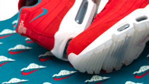 "NIKE AIR MAX 95 UTILITY NRG ""Mt.FUJI"" UNIVERSITY RED/BRIGHT SPRUCE/SUMMIT WHITE 9"