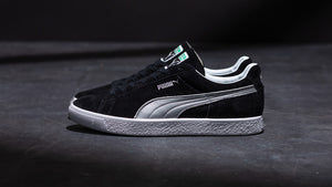 "Puma SUEDE VTG MIJ SILVER ""made in JAPAN"" QUARRY/PUMA SILVER 8"
