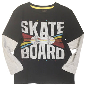 SKATE BOARD LONG SLEEVE