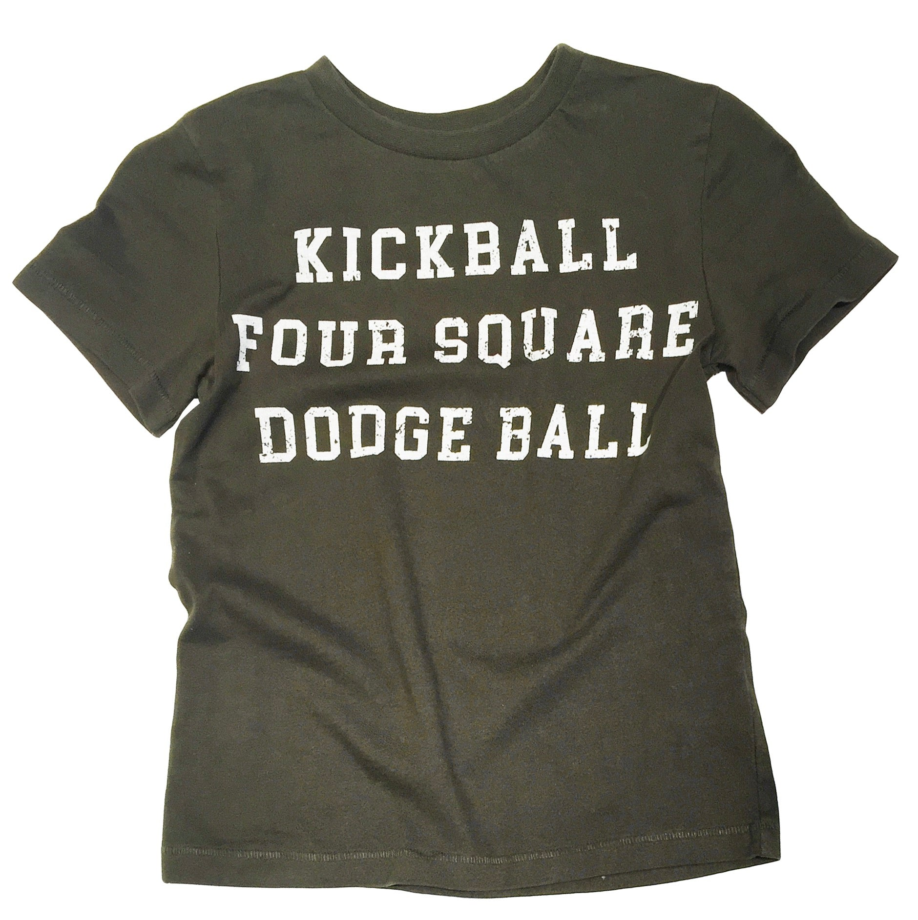 KICKBALL FOUR SQUARE DODGEBALL