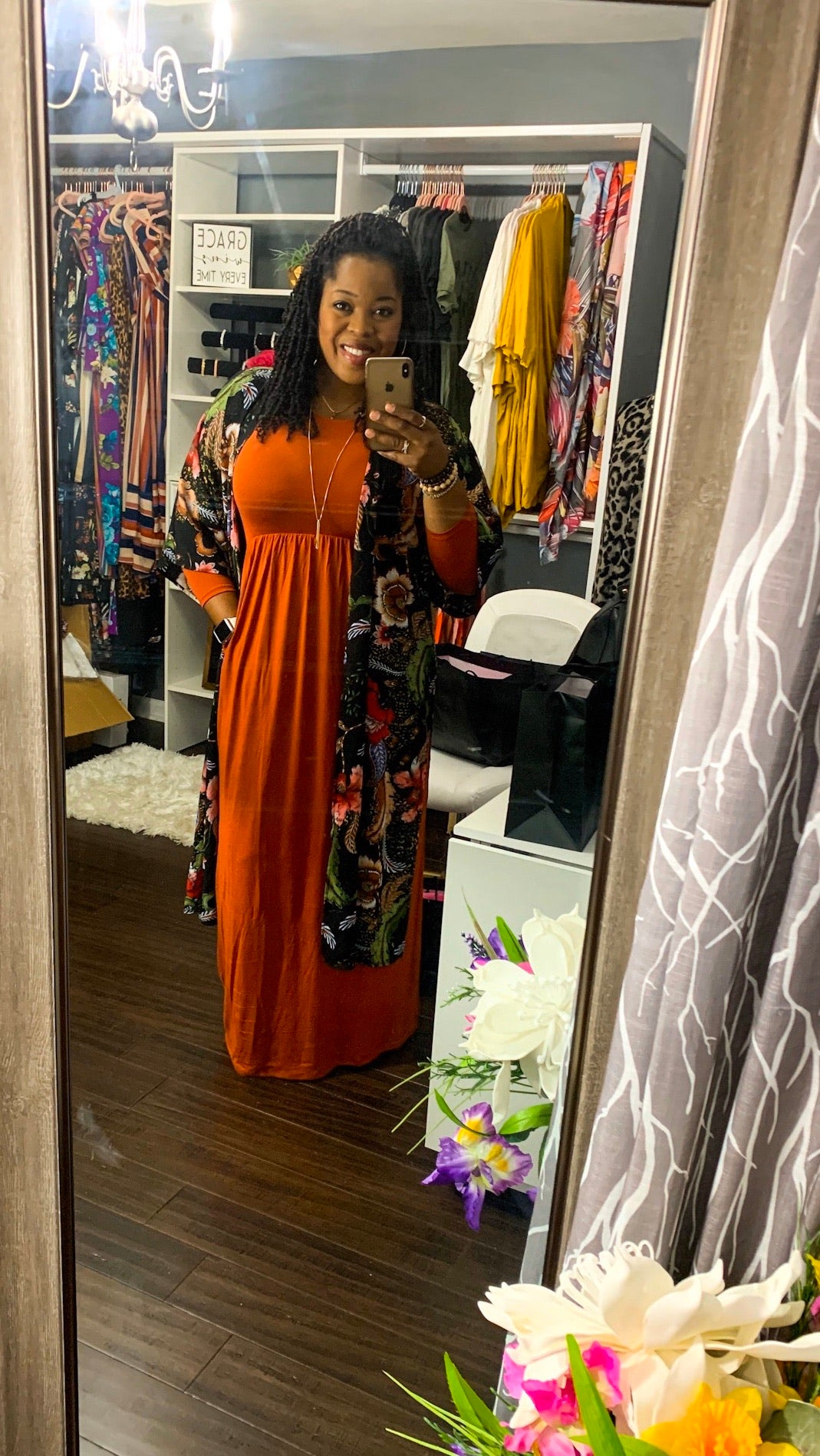 Copper Maxi w/pockets