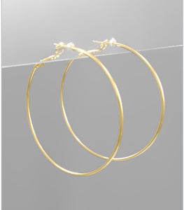 50mm Hoop Earrings