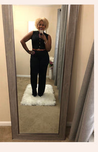 Crystal Black Jumpsuit
