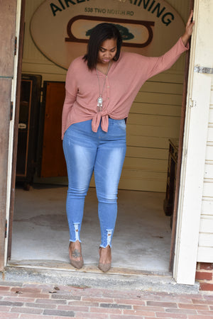 Curvy High Waist Jeggings