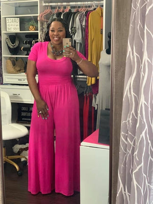 Pink out Jumpsuit
