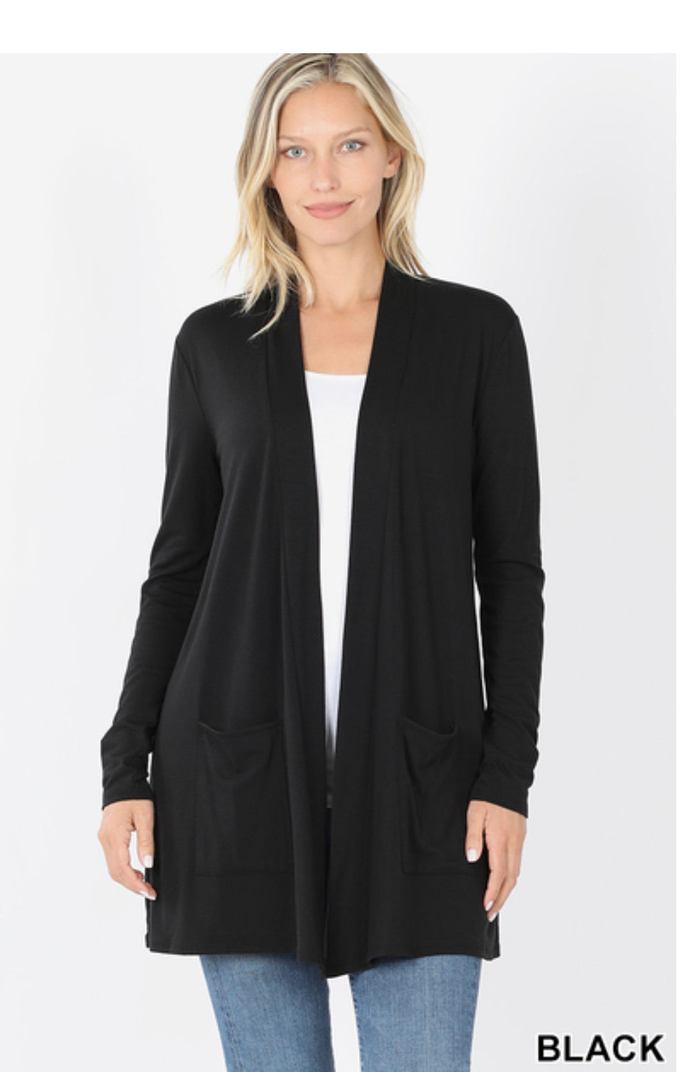 Chrissy Black Cardigan