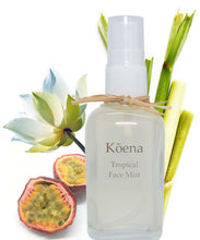 Load image into Gallery viewer, Tropical face mist with essential oils.