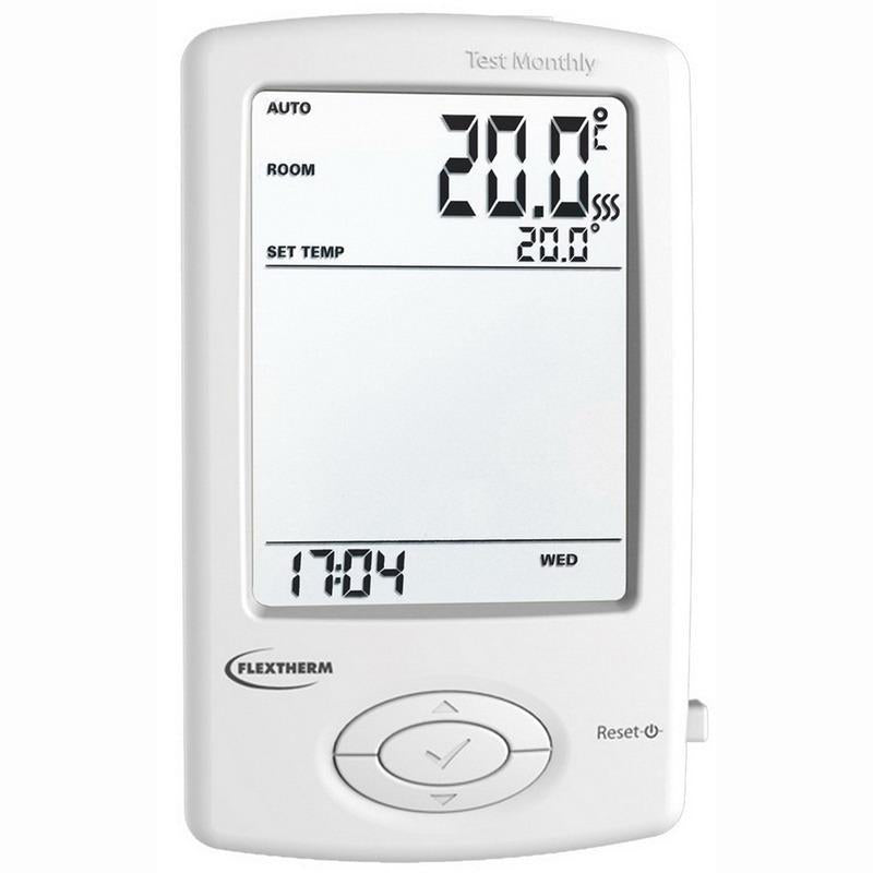 Thermostat programmable pour plancher chauffant 120 240V