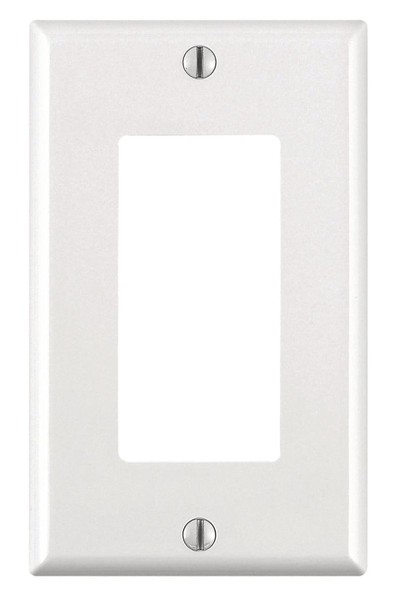 Plaque murale Decora simple plastique - Blanc