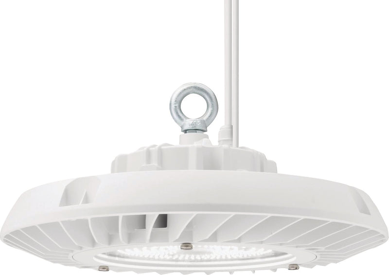 Luminaire High Bay DEL 18000 lumen 4000K luminosoté ajustable avec cordon alimentation120/277V