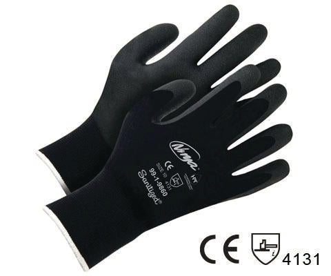 Gant nylon cl15 paume nitrile mousse, medium (Taille 8)